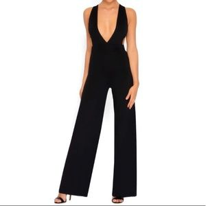 NWT Oh Polly Black Jumpsuit